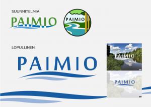 Immaisgraphics Paimion Kaupunki Logo
