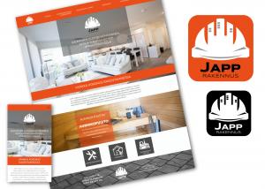 Immaisigraphics Japp Rakennus Verkkosivut Logo